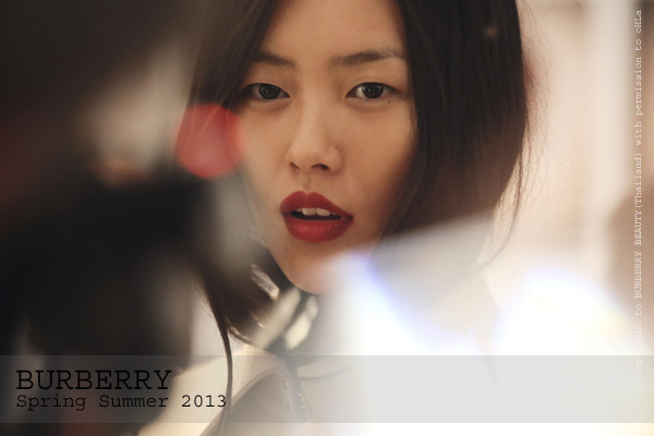 burberry beauty at the burberry prorsum spring summer 2013 show (2)