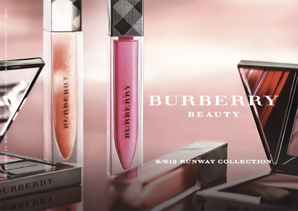 burberry beauty at the burberry prorsum ss13 poster 2