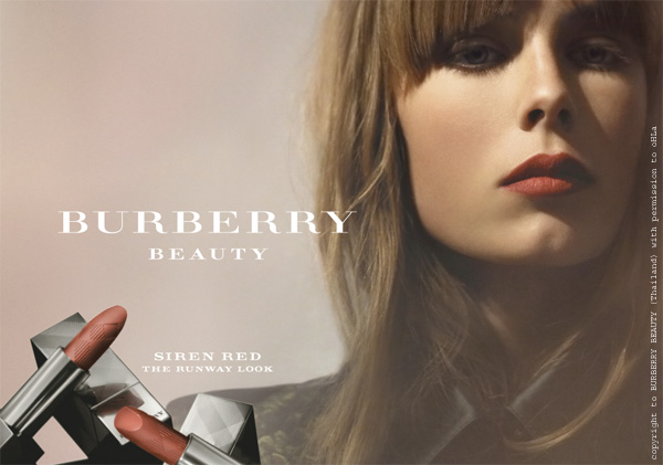 burberry beauty at the burberry prorsum ss13 poster 3