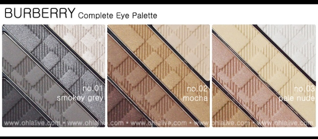 BURBERRY Complete Eye Palette - 1 to 3 ohlalive