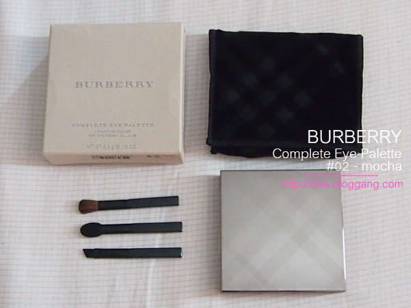 BURBERRY Complete Eye Palette - component