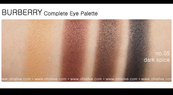 BURBERRY Complete Eye Paletteno.5 - dark spice