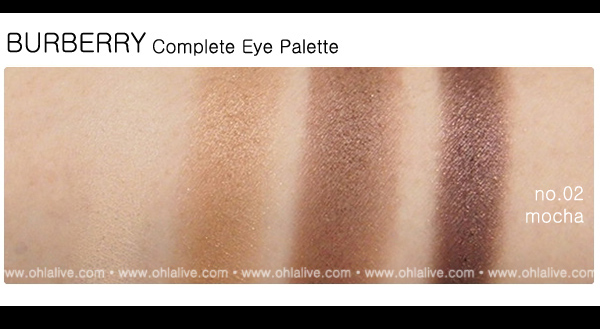 BURBERRY Complete Eye Paletteno.2 - mocha