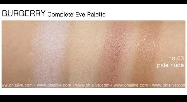 BURBERRY Complete Eye Paletteno.3 - pale nude