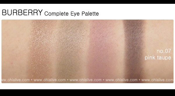 BURBERRY Complete Eye Paletteno.7 - pink taupe