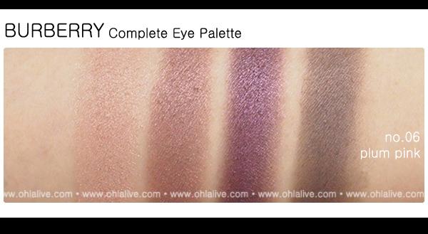 BURBERRY Complete Eye Paletteno.6 - plum pink