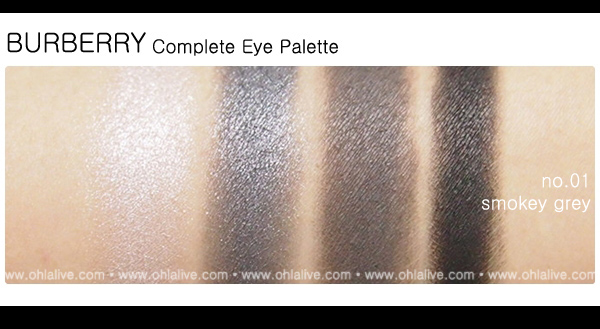 BURBERRY Complete Eye Paletteno.1 - smokey grey