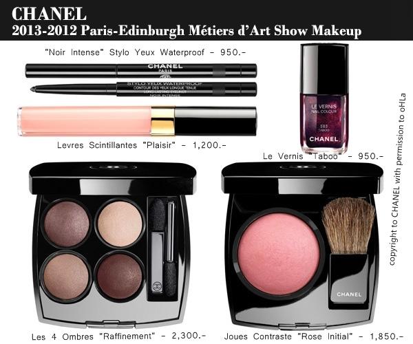 Paris-Edinbourg makeups
