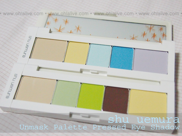 SHUUEMURA Unmask Eye Palette - both