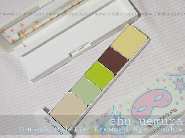 SHUUEMURA Unmask Eye Palette - inside