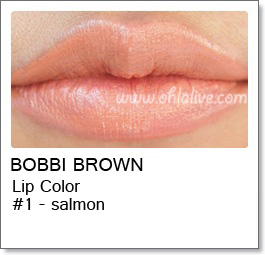 BOBBI BROWN Lip Color Original - 1 Salmon