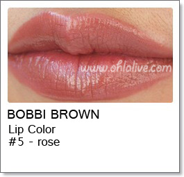 BOBBI BROWN Lip Color Original - 5 Rose