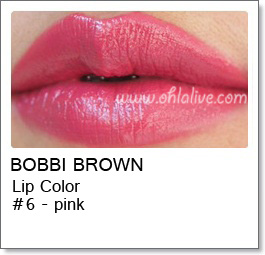BOBBI BROWN Lip Color Original - 6 Pink