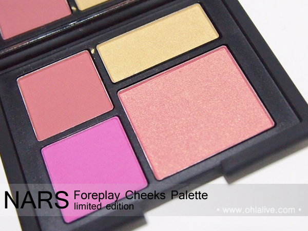 NARS Foreplay Cheeks Palette - 2