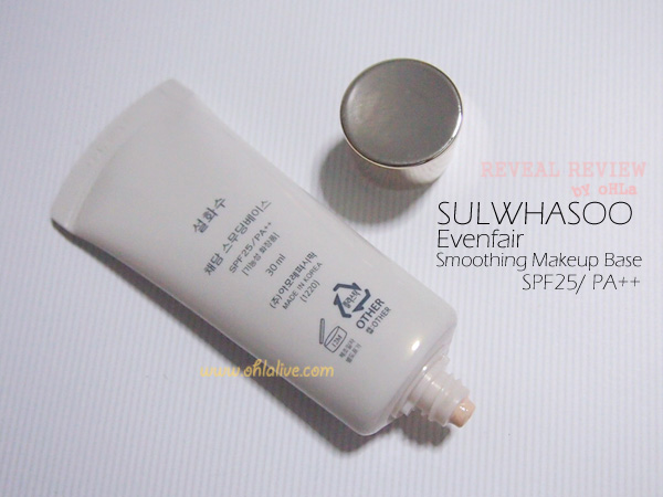SULWHASOO Evenfair Smoothing Makeup Base - back