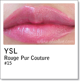 YSL Rouge Pur Couture 15