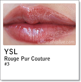 YSL Rouge Pur Couture 3