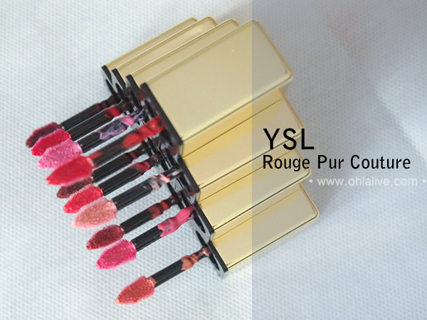 YSL Rouge Pur Couture - applicators
