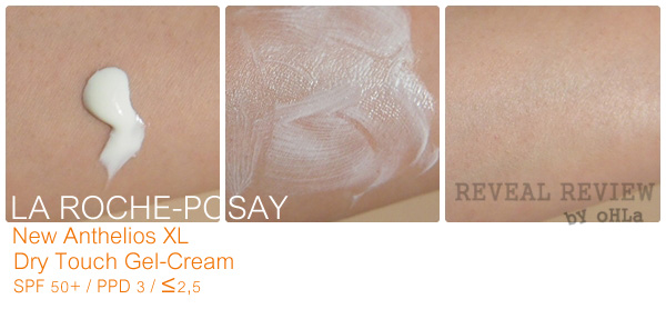 LA ROCHE-POSAY New Anthelios XL Dry Touch Gel-Cream SPF 50 - texture