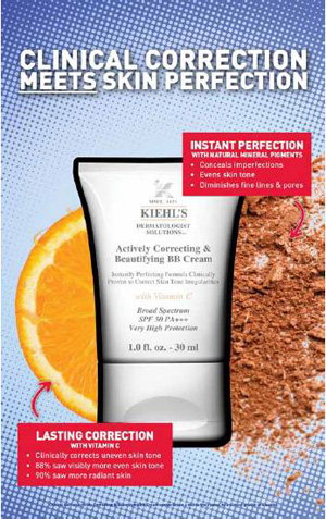 KIEHL'S Actively Correcting & Beautifying BB Cream