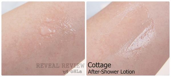 Cottage After-Shower Lotion - apply on skin