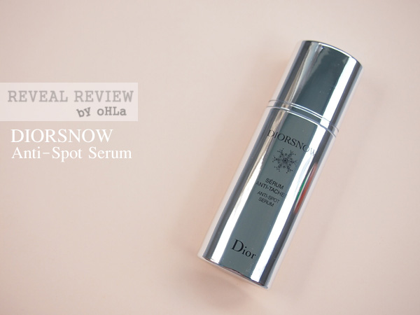 DIORSNOW Anti-Spot Serum size 50ml., shelflife 12M counter price THB.-