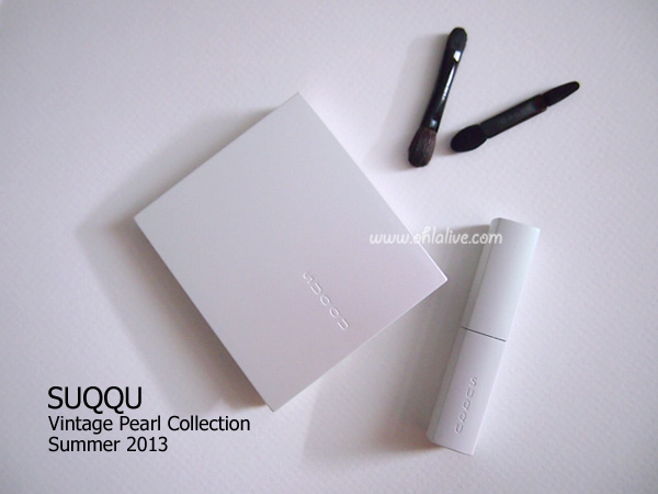 SUQQU Vintage Pearl Collection Summer 2013