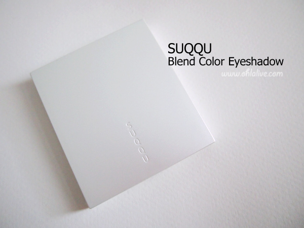 SUQQU Blend Color Eye Shadow #EX-12 hisuidama size 5g., shelflife 12M counter price: THB 3,100.-