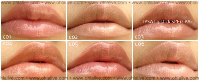 ipsa lipstick spf12 - C