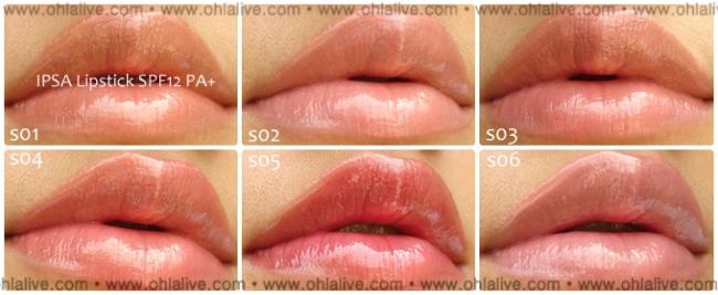 ipsa lipstick spf12 - S