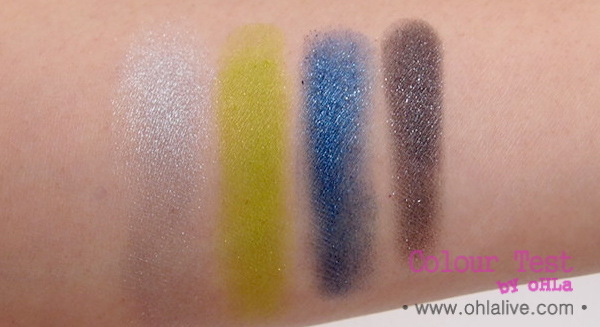 YSL Palette 2013 City Drive Arty - swatched