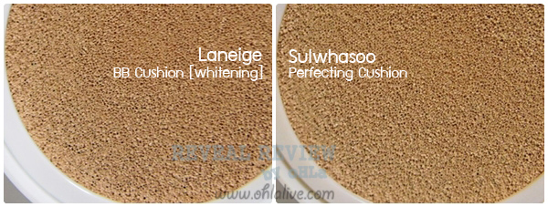 sulwhasoo perfecting cushion vs laneige bb cushion-test0