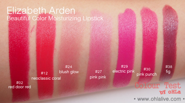 Elizabeth Arden Beautiful Color Moisturising Lipstick - swatch