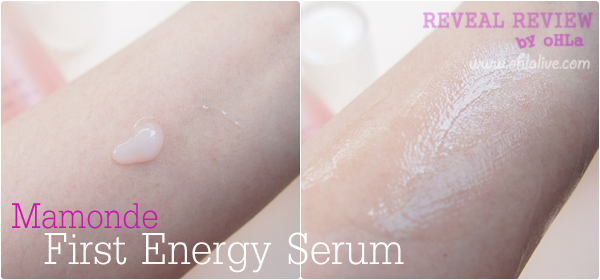 Mamonde First Energy Serum-test