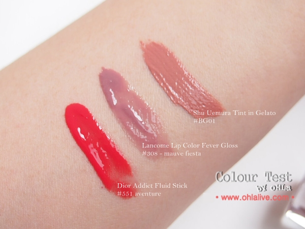 summer glosses 2014 - swatch