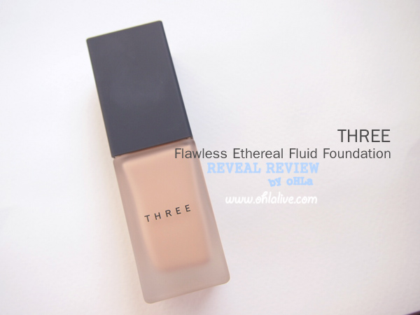 THREE Flawless Ethereal Fluid Foundation