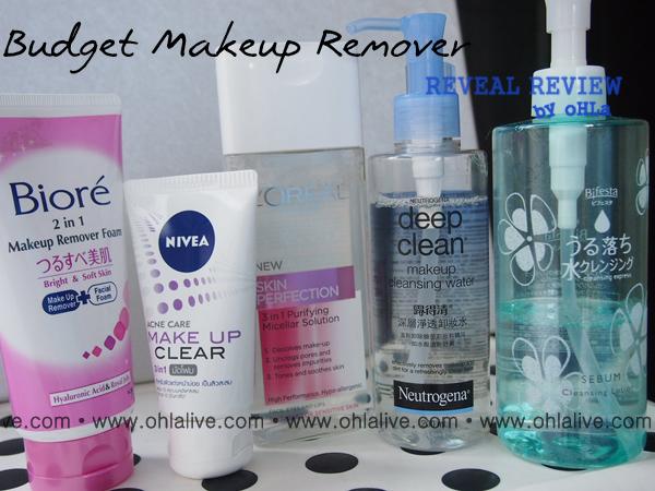 Budget Makeup Remover