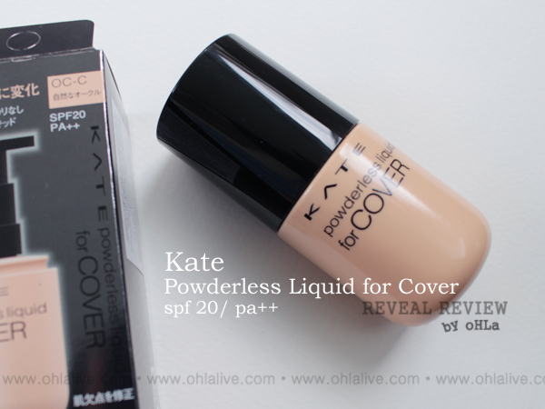 KATE Powderless Liquid for Cover - 0