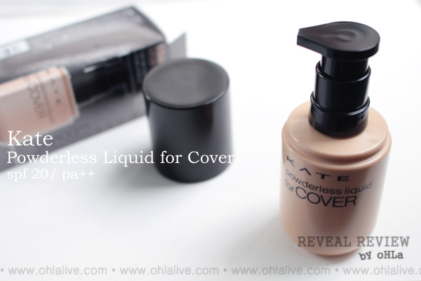KATE Powderless Liquid for Cover - 1