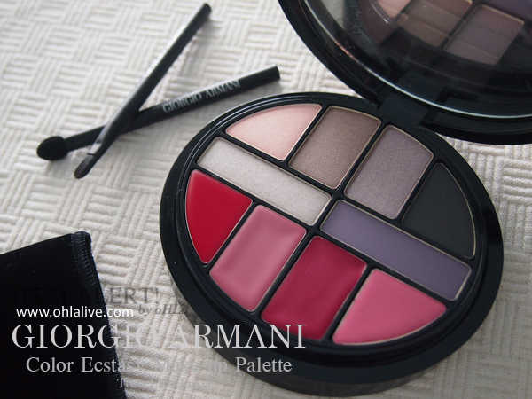 GIORGIO ARMANI Color Ecstasy Make-up Palette