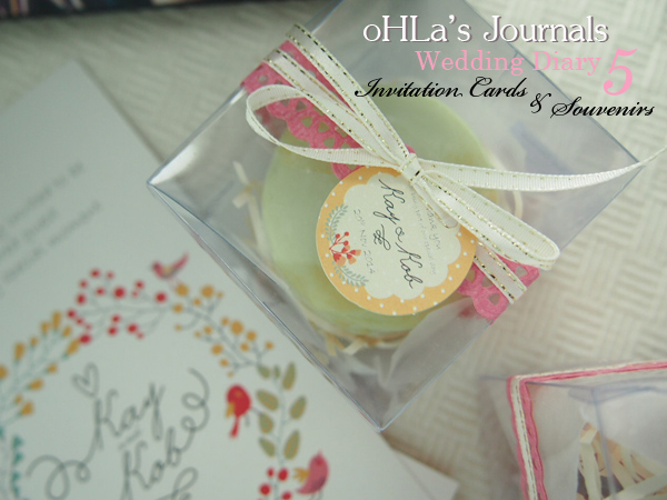 oHLa's Journal :: Wedding Diary 5