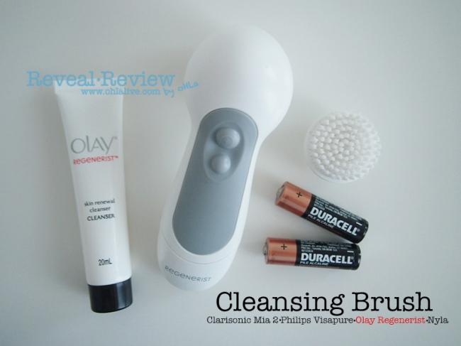 Olay Regenerist Cleansing Brush