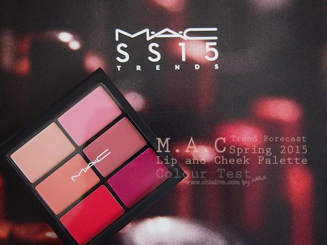 M.A.C SS 2015 Palette