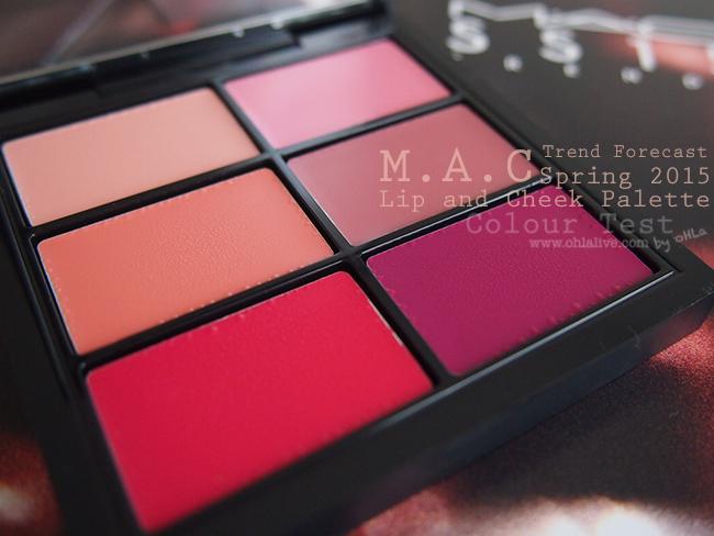 MAC SS2015 palette - 3