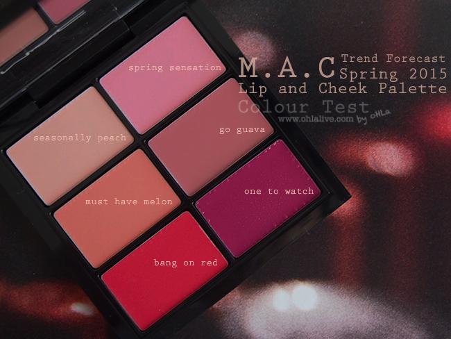 MAC SS2015 palette - 4
