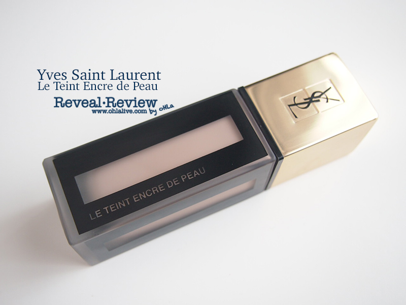 YSL Le Teint Encre de Peau size 25ml., shelflife 12M counter price THB2,400.-