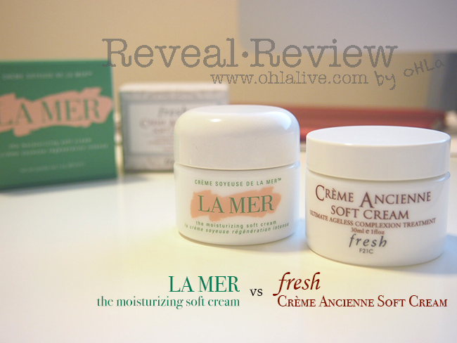 lamer vs fresh soft cream