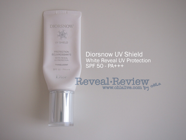 Diorsnow UV Shield White Reveal UV Protection SPF50 PA+++