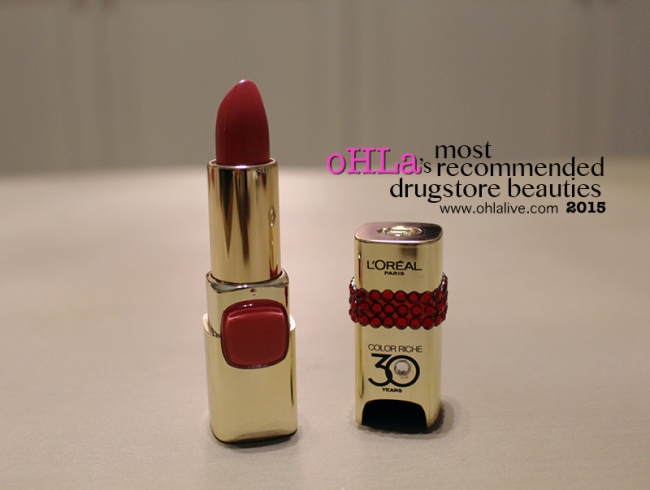 oHLa-most-recommended-drugstore-beauties-16-Lorealcolorrichelipstick