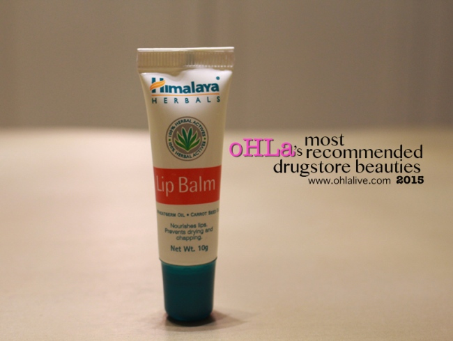 oHLa-most-recommended-drugstore-beauties-19-himalayaherbalslipbalm